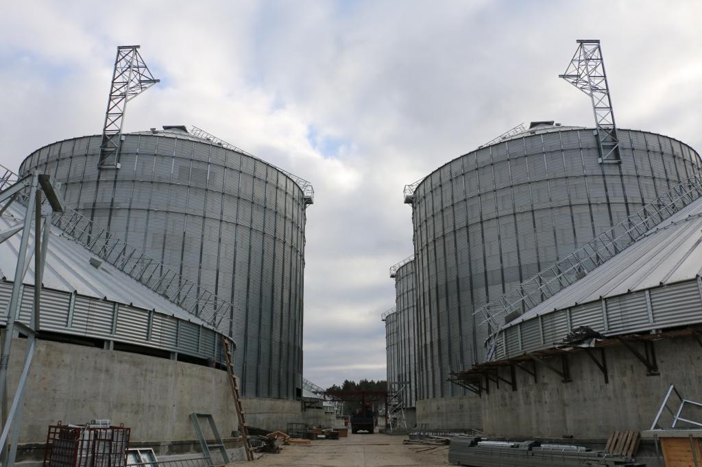 курская область строительство элеватора